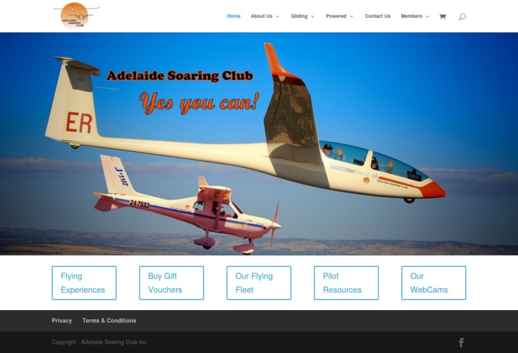 adelaidesoaring website