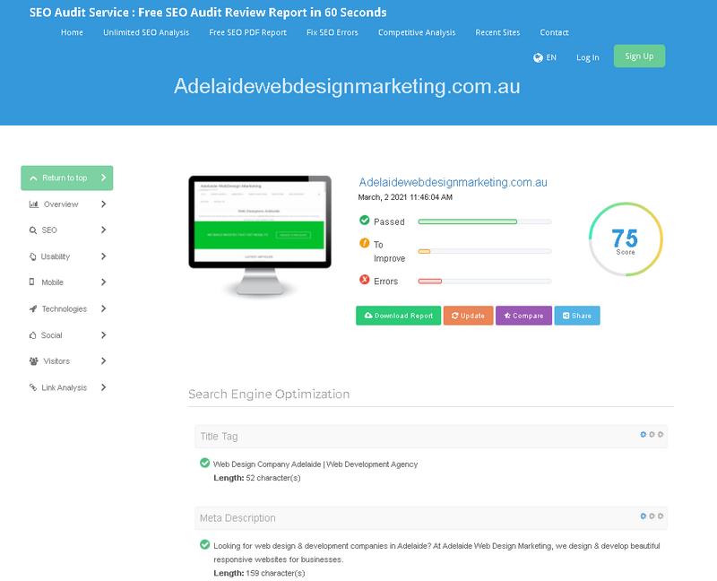 SEO Audit Review